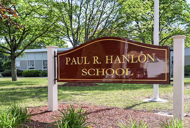 Exterior picture of the Paul Hanlon School