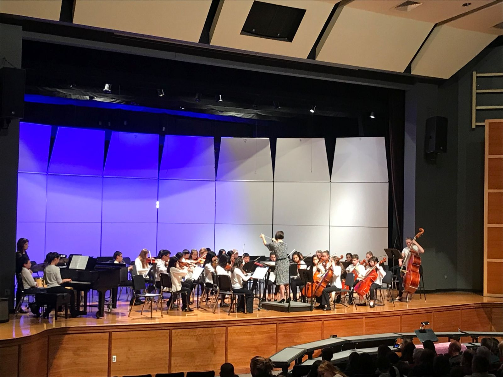 Winter Orchestra Concert Middle School